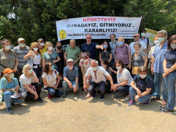 CHP'Lİ TANAL, VALİDEBAĞ KORUSU İÇİN AKP'Lİ BELEDİYEYİ OMBUDSMANLIK'A ŞİKAYET ETTİ