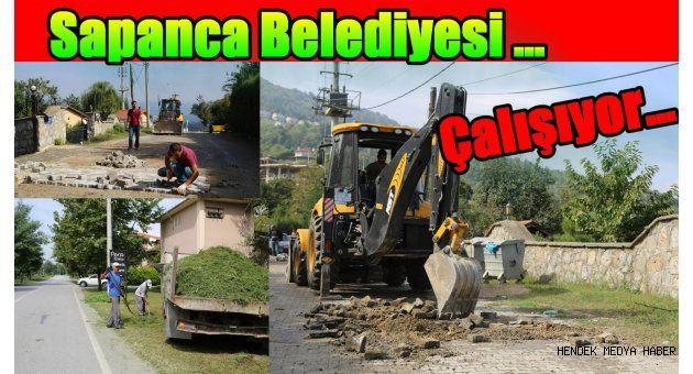 Sapanca Belediyesi Çalışıyor…