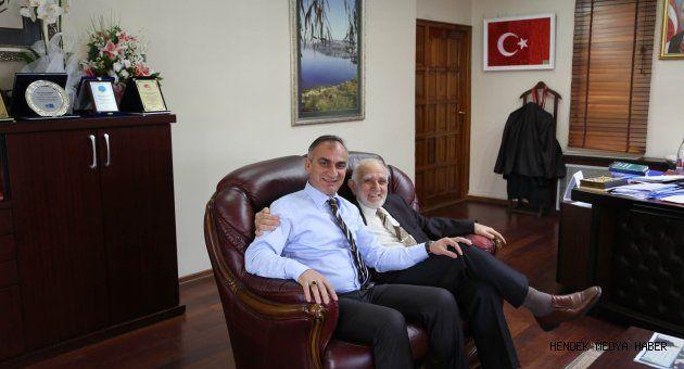 Turgut Arapoğlu Başkan Yılmazer'i ziyaret etti
