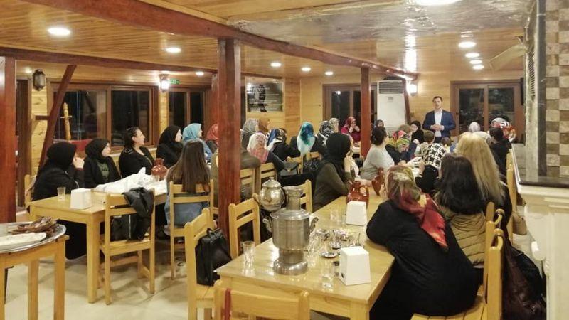 SOFU' dan Cumhur İttifakı Hanımlarına Vefa Yemeği