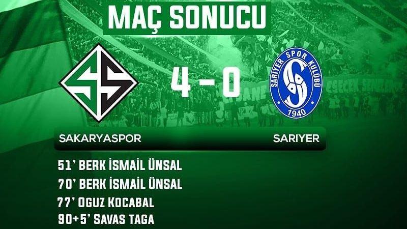 Sakaryaspor şampiyonluğa koşuyor
