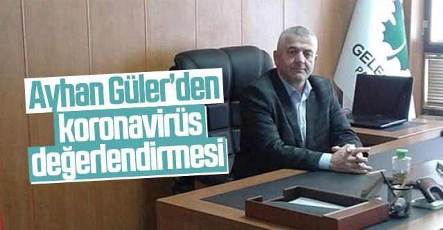 Gelecek Partisi İl Başkan Yardımcısı Ayhan Güler normalleşme sürecine dikkat çekti