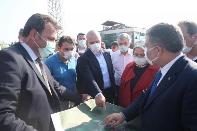 """İçişleri Bakanı Soylu: """"7 kişilik kaybımız var, 4'ü vefat, 3'ünü arama çalışmaları devam ediyoruz"""""""