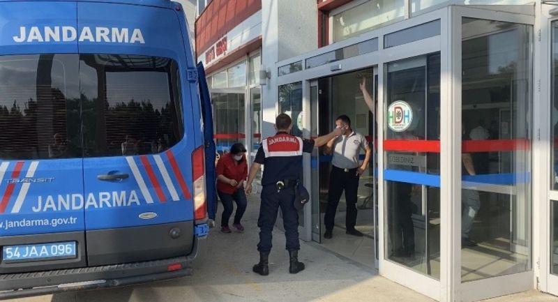 Havai fişek fabrikasındaki patlama ile ilgili gözaltına alınan 3 kişi hastaneye getirildi