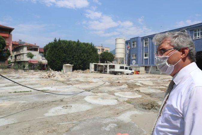 Geyve MYO ek hizmet binası inşaatı başladı