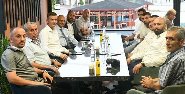Dikbayır Hendekli Basın mensupları ile bir araya geldi
