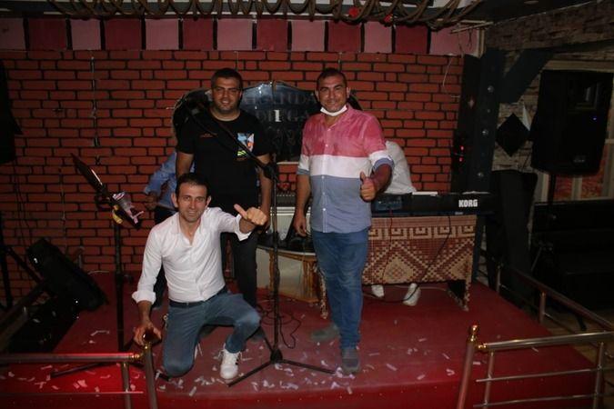 Maranda Kafe, sezonu Ahmet Atmaca ile açtı.