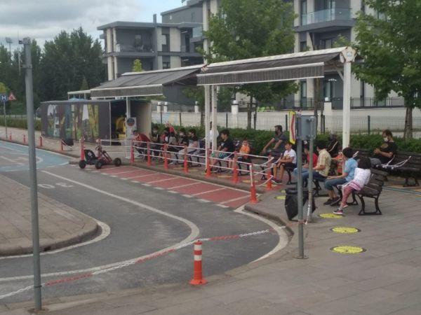 Trafik Park önlemlerini alarak tekrar faaliyete başladı