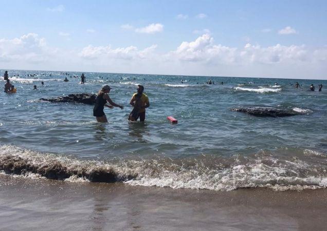 Kandıra sahillerinde 2 günde 188 kişi boğulmaktan kurtarıldı