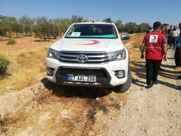 Düzceli Kızılay personeli Suriye El Bab'da şehit oldu