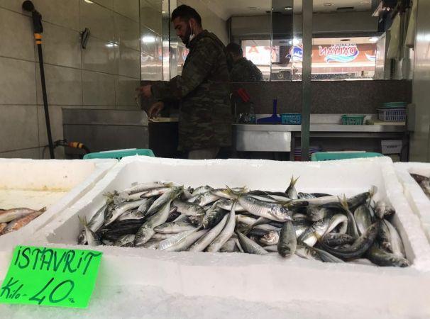 Sofraların vazgeçilmezi istavritin kilosu 40 liraya satılıyor