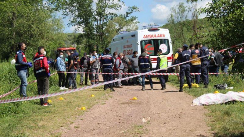 Husumetlisi tarafından öldürülen çiftin cenazeleri morga kaldırıldı
