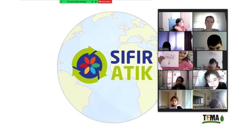 TEMA'dan Okullarda SIFIR ATIK Projesi