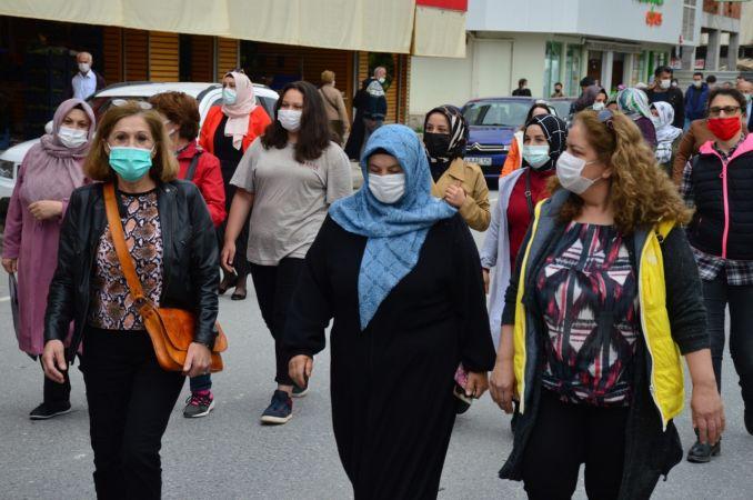 Hayat Boyu Öğrenme Haftası kapsamında beş kilometre yol yürüdüler
