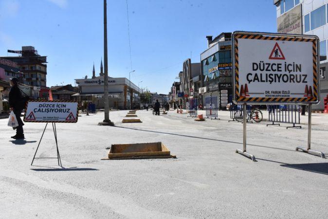 İstanbul Caddesinde ikinci etap başlıyor
