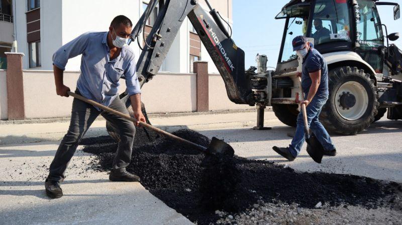 Enerji Bakanlığından 500 ton bitüm hibesi