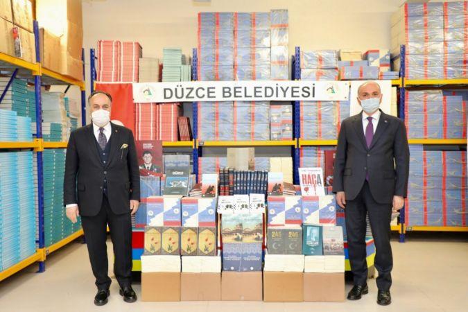 Düzce Belediyesinden tutuklu ve hükümlülere kitap desteği