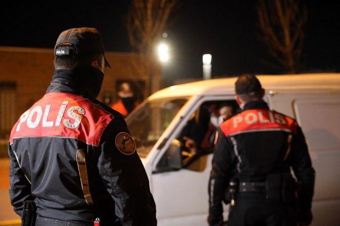 Sokağa çıkma kısıtlamasını ihlal edenlere 207 bin 900 lira ceza