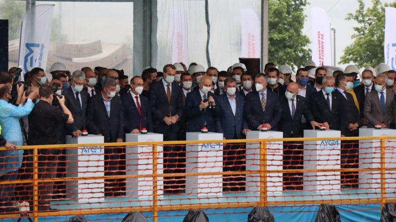 Gebze OSB-Darıca Sahil Metro Hattı'nda tünel kazısına başlandı