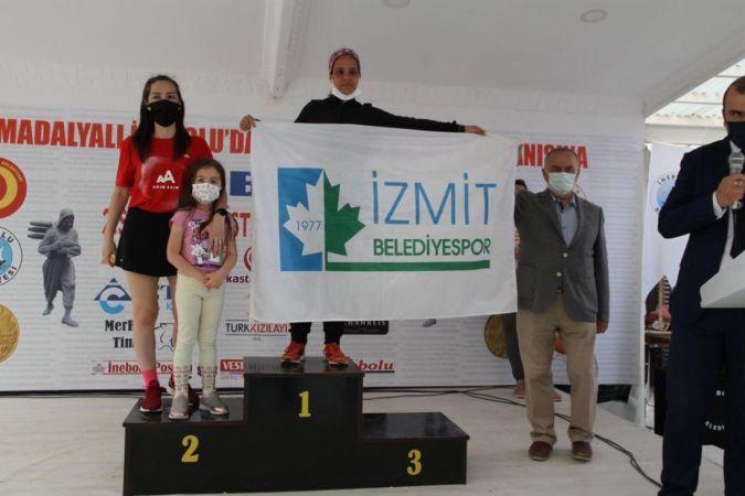 İzmit Belediyesporlu Hasnaa Türkiye Şampiyonu oldu