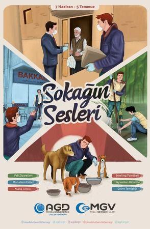 """AGD LİSELER KOMİSYONUNDAN """"SOKAĞIN SESLERİ"""" ETKİNLİKLERİ"""