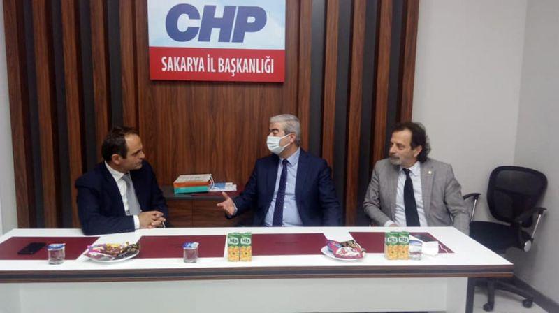 ELEKTRİK MÜHENDİSLERİ ODASINDAN CHP SAKARYA'YA ZİYARET
