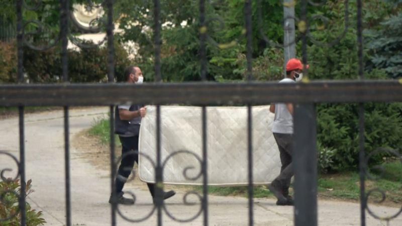 Lütfü Türkkan'ın kaçak çiftliği tahliye edilmeye başlandı