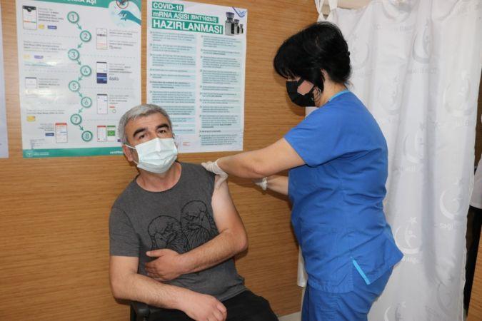 Kocaeli'de 1 milyonuncu korona virüs aşısı yapıldı