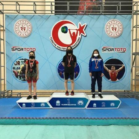 Tülay İlhan Türkiye şampiyonu oldu