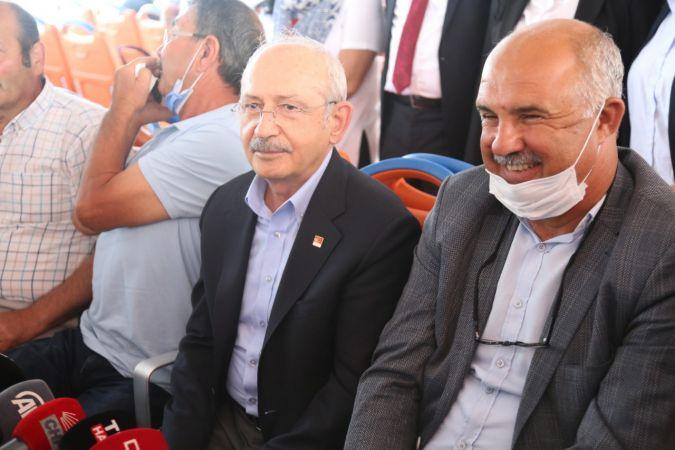 Kılırdaroğlu, balıkçılar ile deniz salyası sorununu konuştu