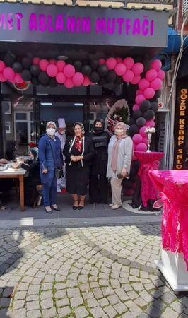 Hendek'te Nimet Ablanın mutfağı hizmete açıldı