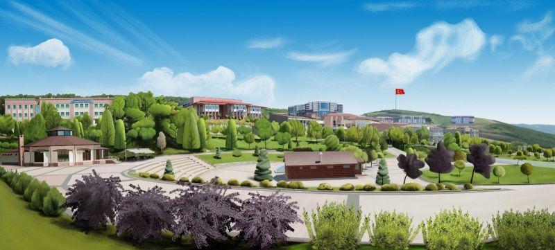 Düzce Üniversitesi enstitüleri tek çatı altında birleşti