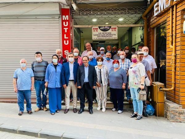 CHP'den Hendek'te geniş katılımlı ziyaretler