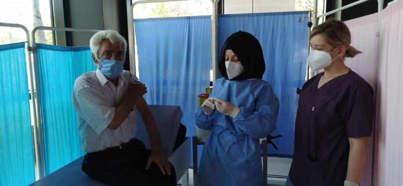 244 binden fazla aşı yapılan Düzce'de Aşı Merkezi yoğun ilgi görüyor