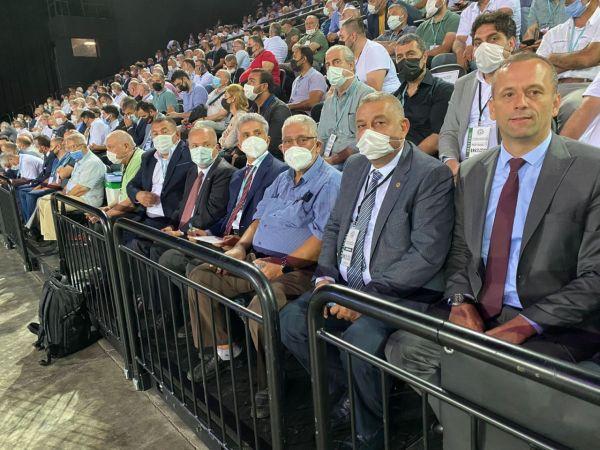 Düzce ASKF, İstanbul Kongresine katıldı