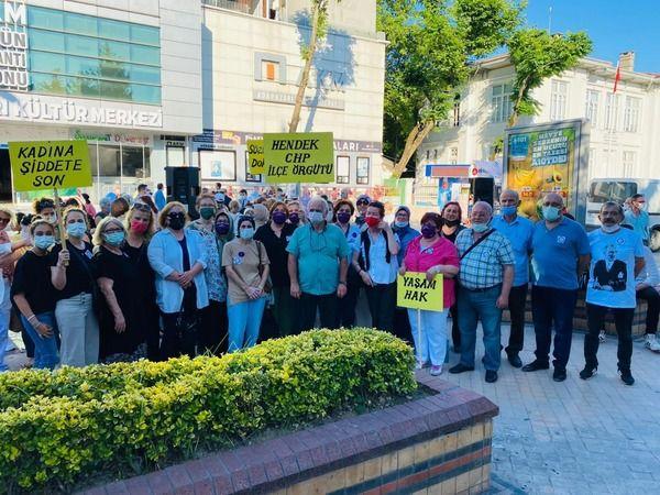 CHP Hendek İstanbul sözleşmesi yaşatır