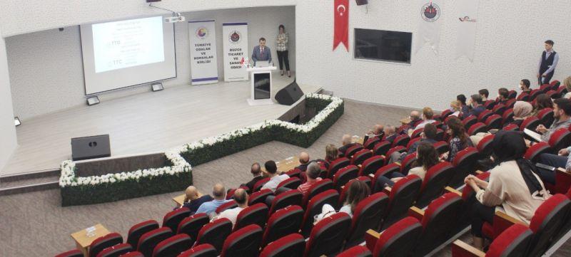 TOBB Şikago Türkiye Ticaret Merkezi tanıtım toplantısı Düzce'de yapıldı