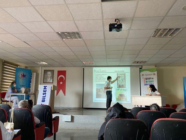 TÜBİTAK'ın çevre projesine İzmit Belediyesinden destek