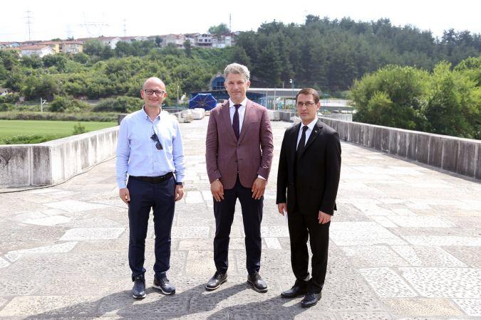 Türkmenistan'ın Ankara Büyükelçisi İşankuli Amanlıyev Sakarya ziyaretleri