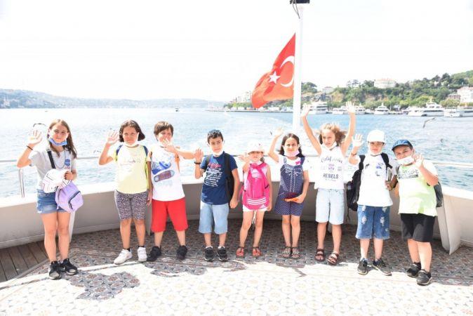 Başiskele Yaz Akademisi öğrencileri İstanbul'da