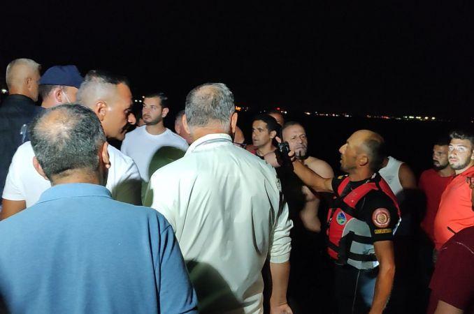 8 saat denizde kaldı, gücü tükenince ekipler kurtardı