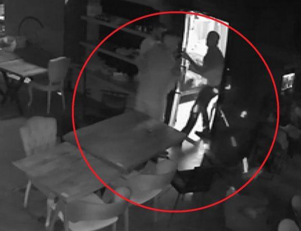 1 kişinin öldüğü, 3 kişinin yaralandığı silahlı kavganın görüntüleri ortaya çıktı