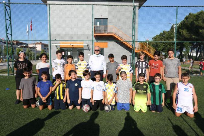 Derince'nin yeni spor ve eğitim buluşma noktası