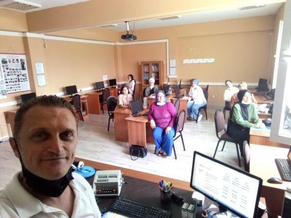 BAŞKİM'de merkez kursları devam ediyor