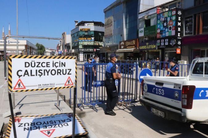 Düzce Zabıtası kurallara uymayan 24 işyerini mühürledi