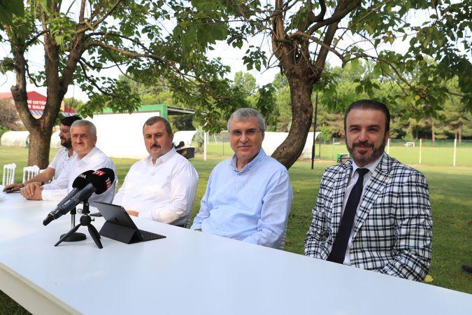 """""""Hedefimiz Sakaryaspor'u hak ettiği noktaya ulaştırmak"""""""