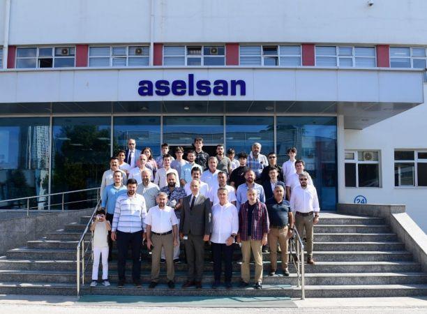 Düşünce ve Dayanışma Platformu, ASELSAN ve MKE'yi ziyaret etti