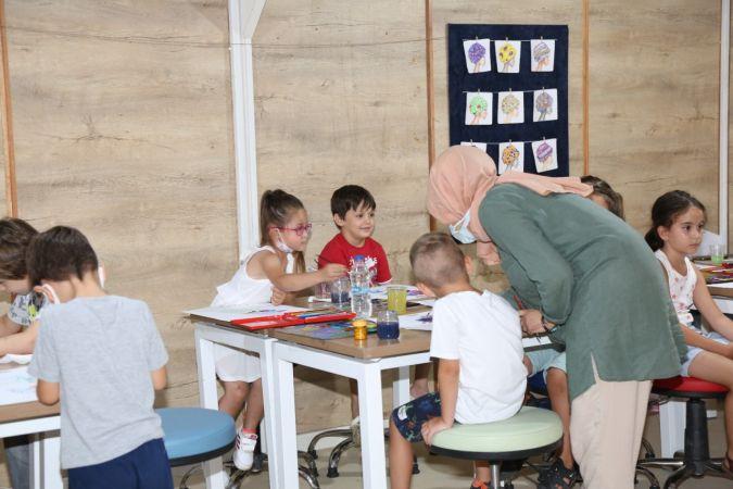 Serdivan Çocuk Bahçesine yoğun ilgi