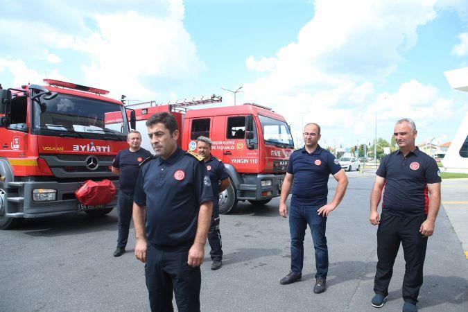 Büyükşehir'in kahraman itfaiyecileri 13 gün sonra yuvaya döndü