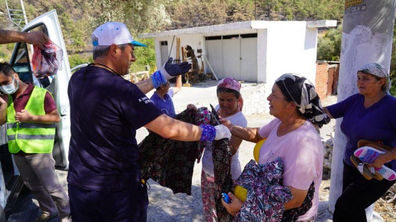 İZBAK ekipleri Muğla'da alkışlarla uğurlandı